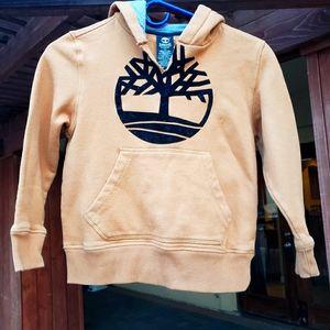 Timberland hoodie tan for kids